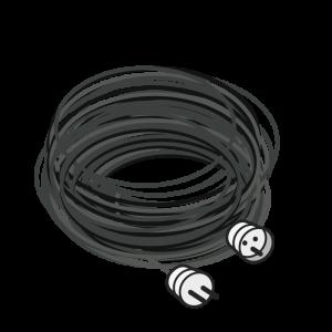 Cable alargador de 25m