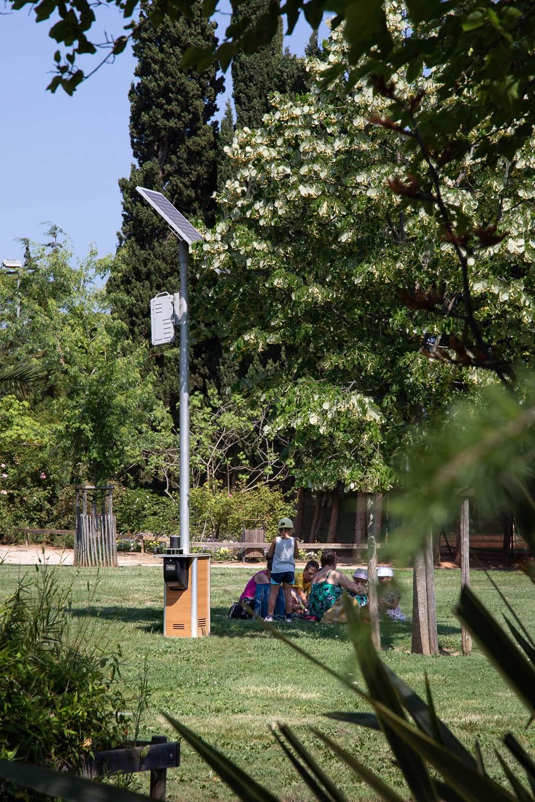 Hyères agrandit son parc de bornes anti-moustiques pour sa démoustication écologique
