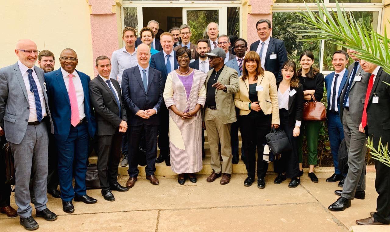 Pierre Bellagambie, co-fondateur Qista, accompagné par le MEDEF, Business France et le CNPM