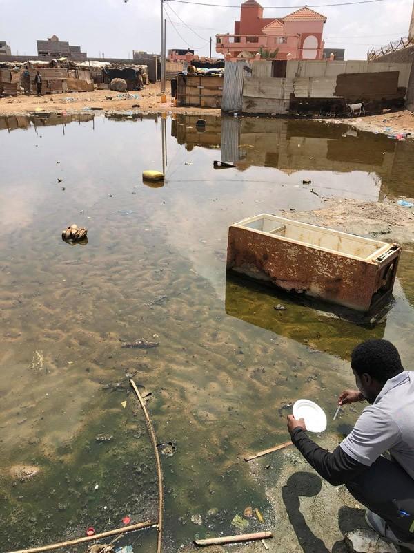 Contrôle des points d'eau à Djibouti par Qista