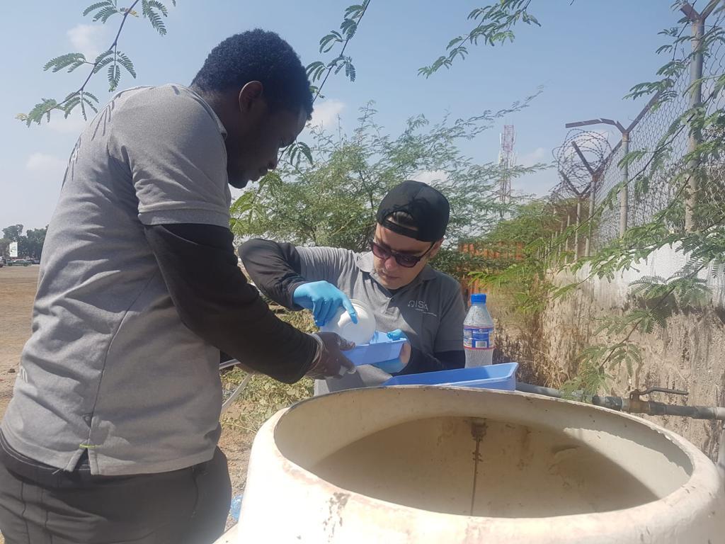 Contrôle des sources d'eau potable à Djibouti par Qista