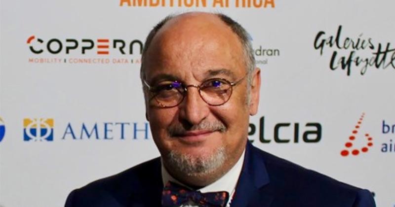 Portrait du président du cluster