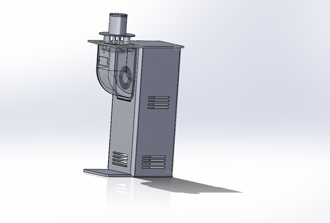 Modèle 3D d'une borne anti-moustique Smart Bam réalisée par Qista