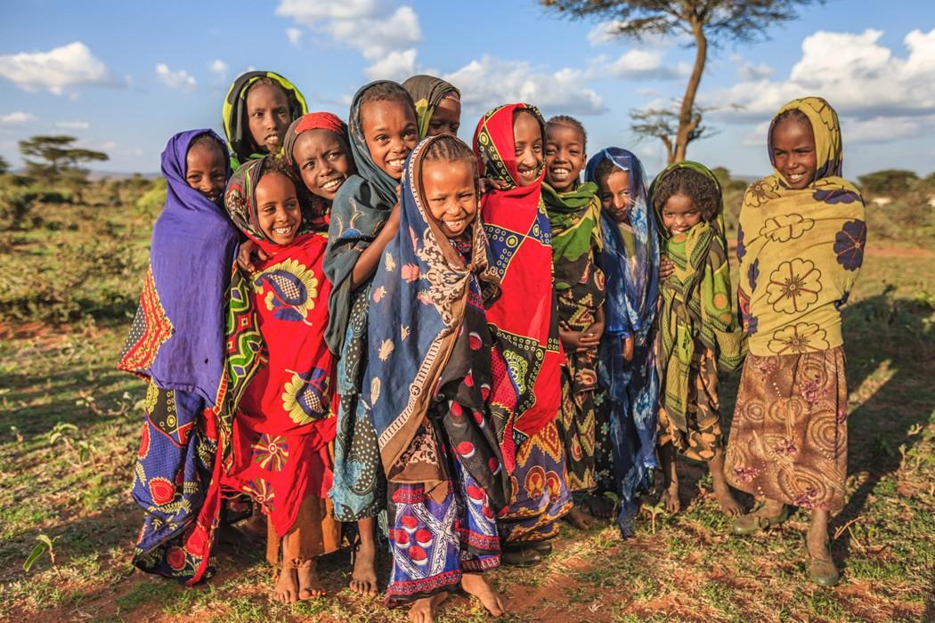 Afrique Ethiopie enfants