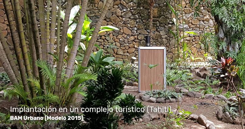 BAM Urbano en funcionamiento: instalación de la trampa antimosquitos en Tahití